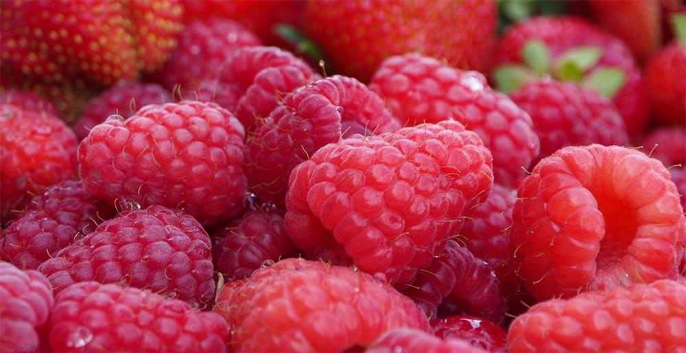 способы заморозки фруктов и овощей Малина и клубника