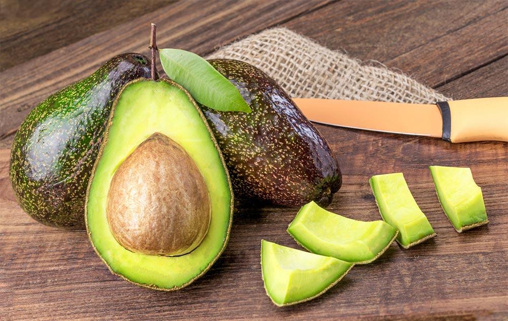 способы заморозки фруктов и овощей Авокадо