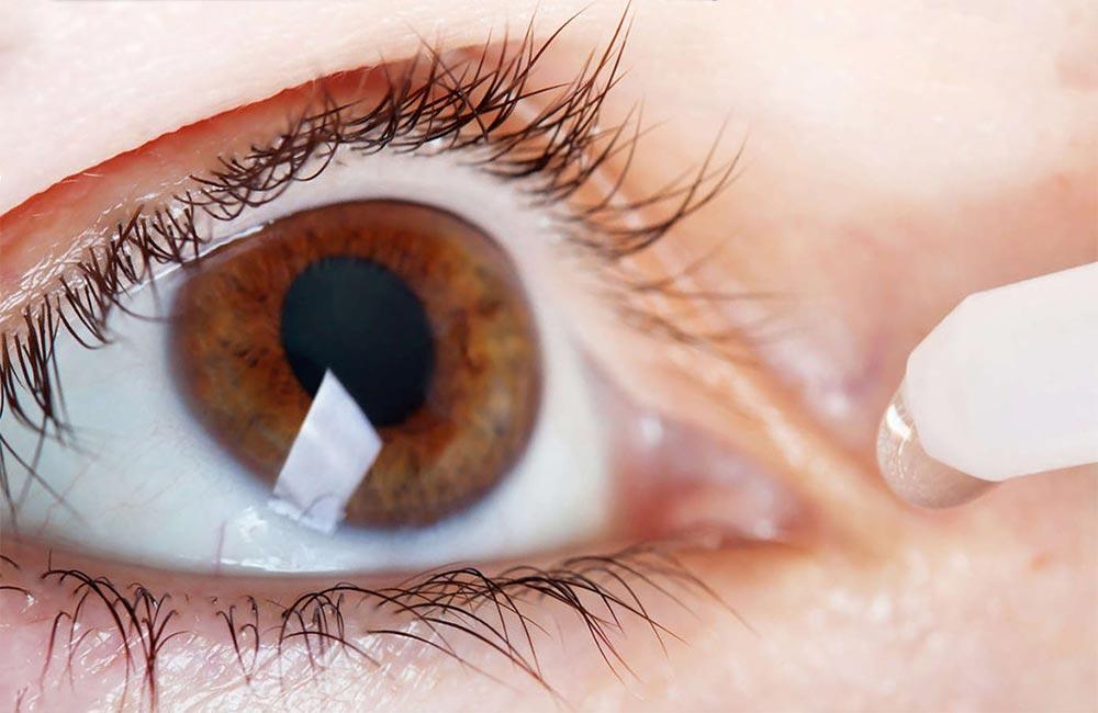 негативные эффекты кондиционера Синдром сухого глаза