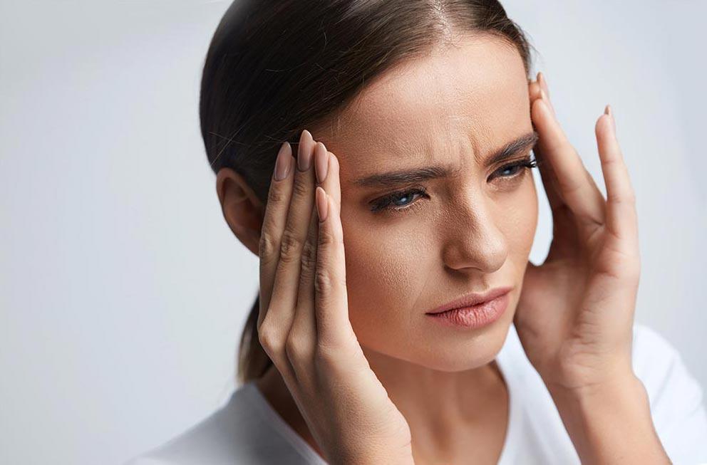 негативные эффекты кондиционера Головные боли