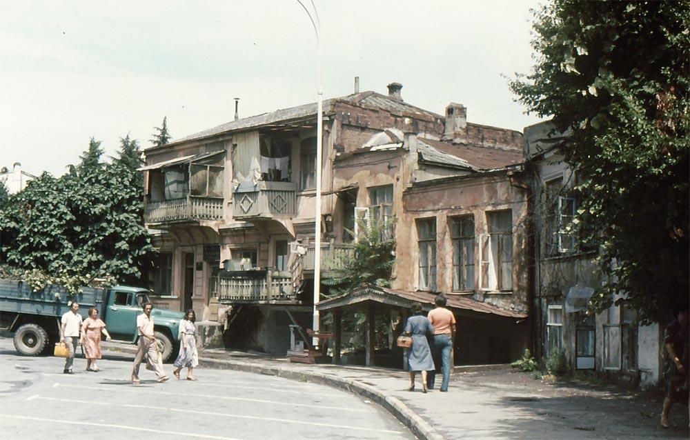 Сочи в фотографиях 80-х годов Улицы города
