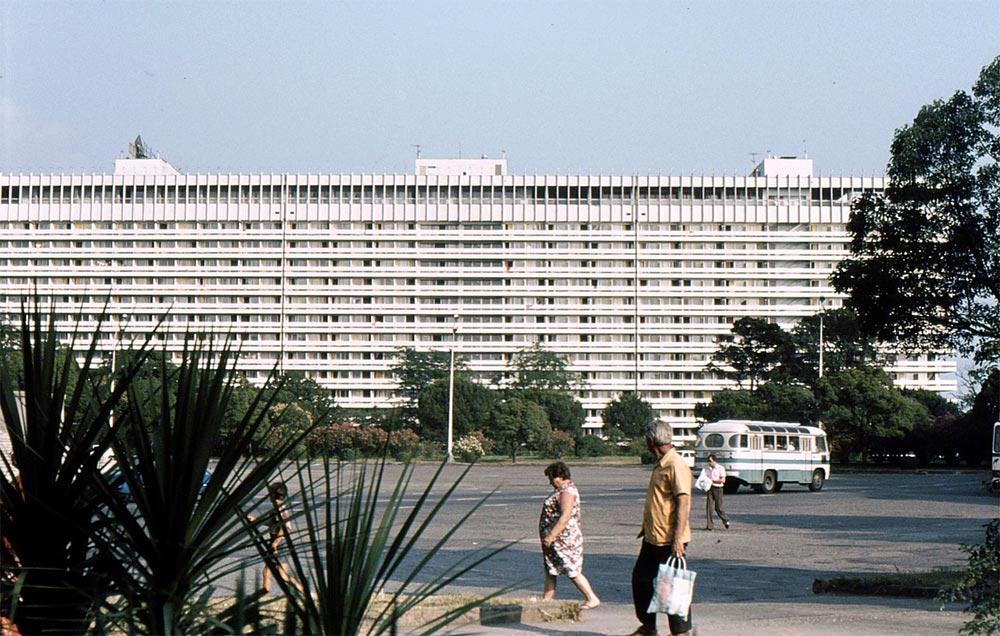 Сочи в фотографиях 80-х годов Гостиница Жемчужина