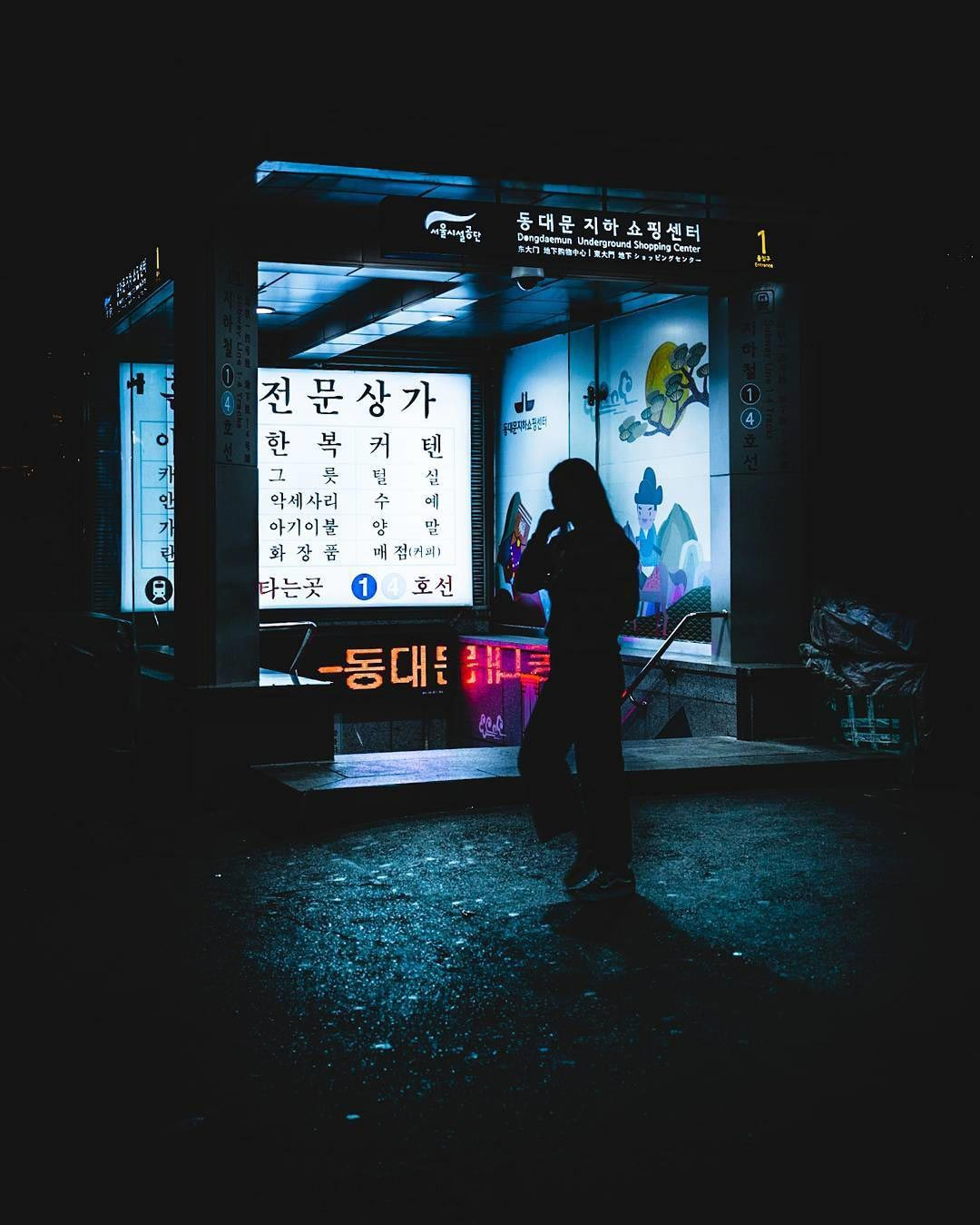 Ночной город в работах Teemu Jarvinen