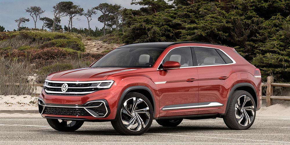 Новый кроссовер Atlas Cross Sport от Volkswagen