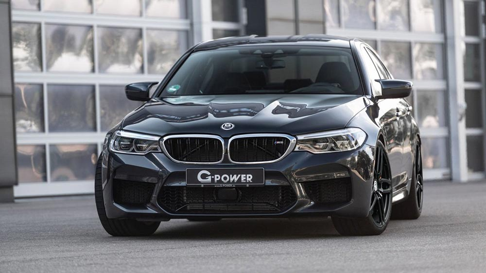 тюнинг БМВ tuning BMW M5 F90 G-Power