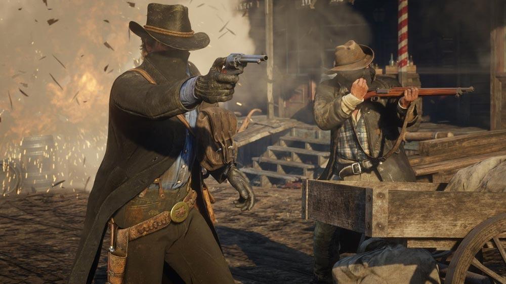 онлайн-режим Red Dead Redemption 2
