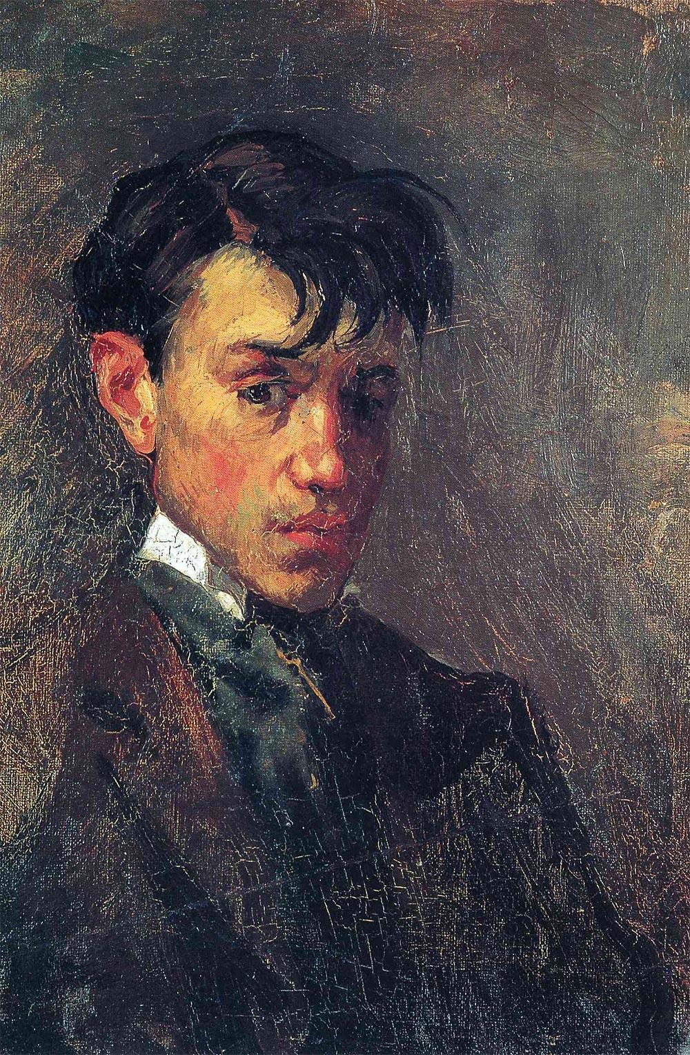 Pablo Picasso Пабло Пикассо Автопортрет