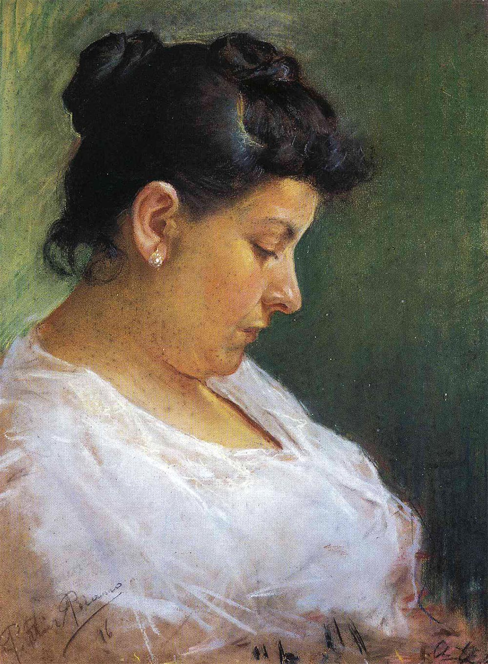 Pablo Picasso Пабло Пикассо портрет матери