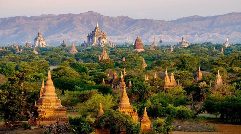 путешествие места Баган Мьянма