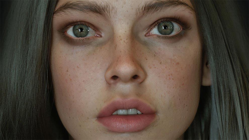 Энвер Enver реалистичное современное 3D-искусство