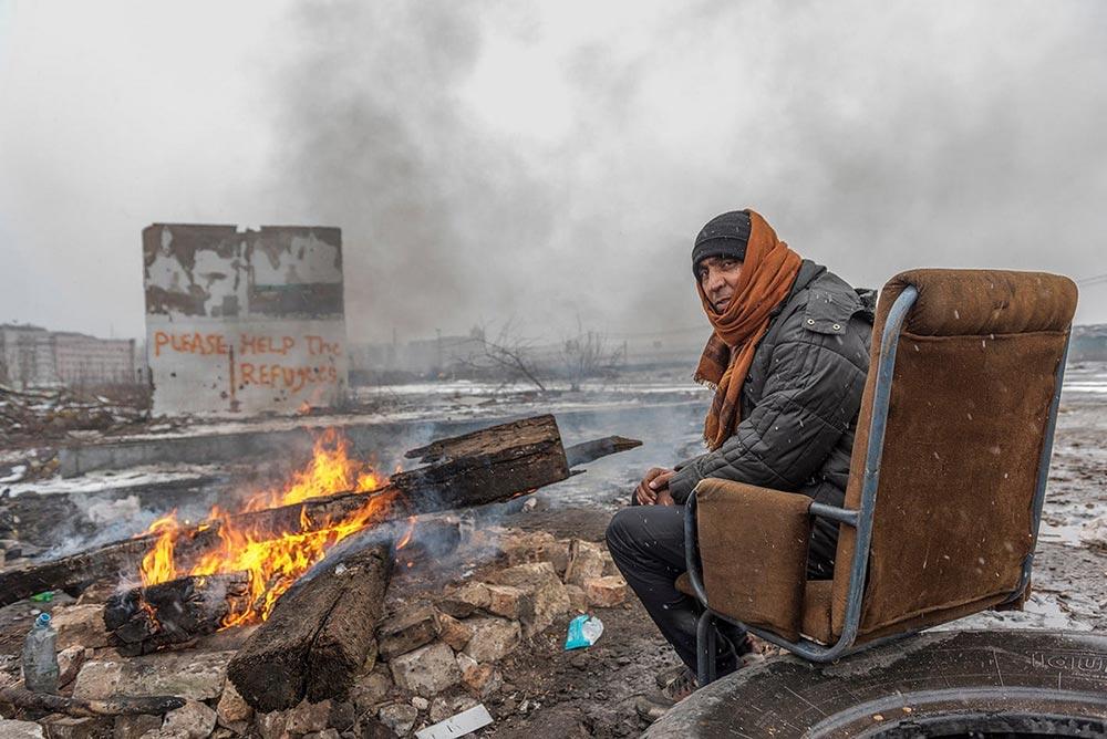 Шорт-лист фотоконкурса Фото земли Earth Photo 2018 Бараки Белграда Ханна Мауле-Финч