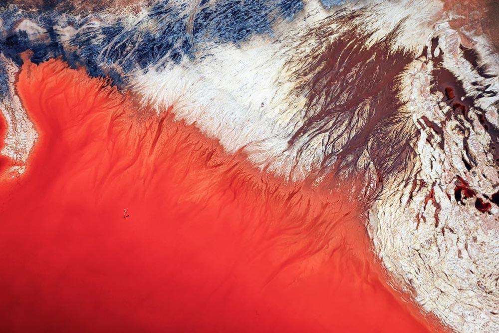 Шорт-лист фотоконкурса Фото земли Earth Photo 2018 Кровавые слезы Йи Сун