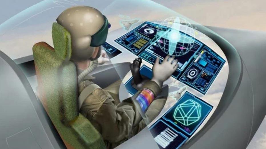Система виртуальной реальности заменит органы управления боевыми истребителями