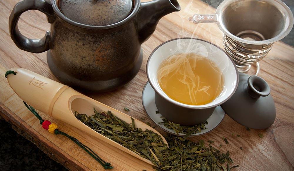 способы победить стресс зеленый чай