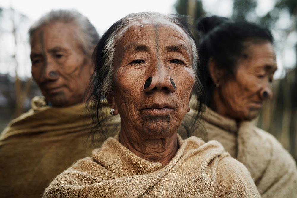 Исчезающие племена Африки и Азии Племя Апатани Apatani Индия