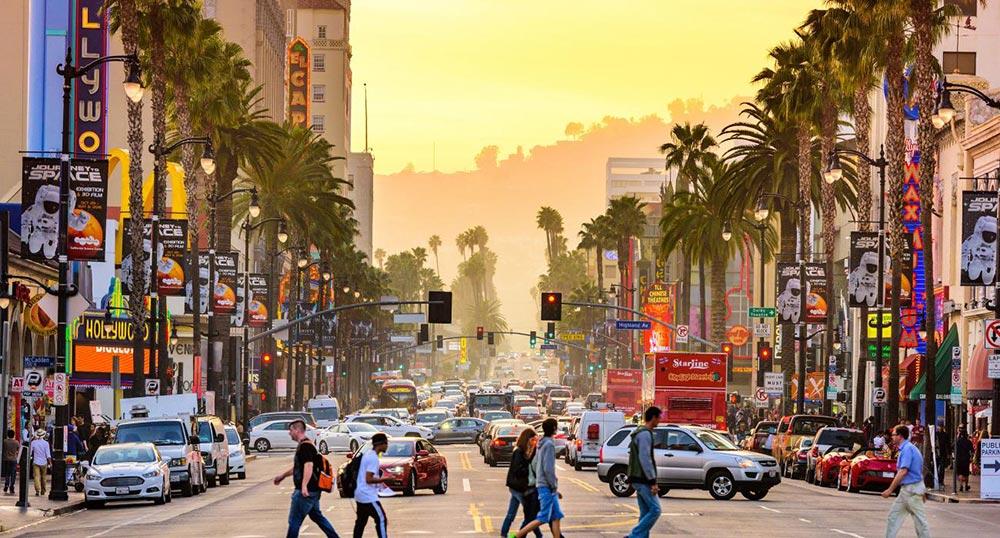 Куда поехать в январе месяце Лос-Анджелес Калифорния