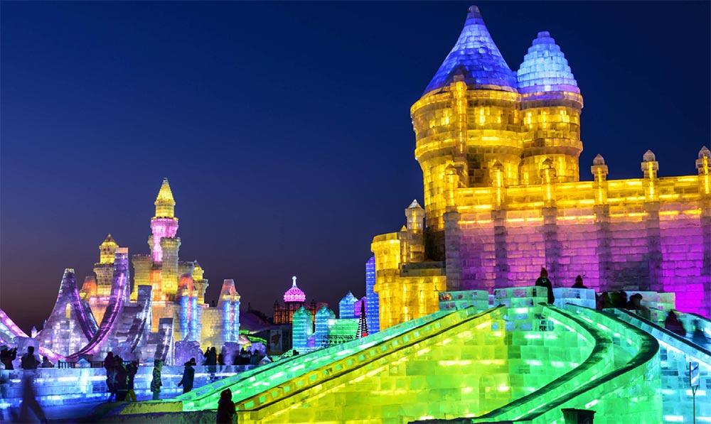 Куда поехать в январе месяце Харбин Китай