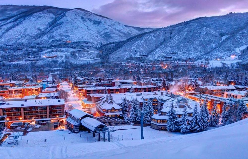 Куда поехать в январе месяце Аспен Колорадо