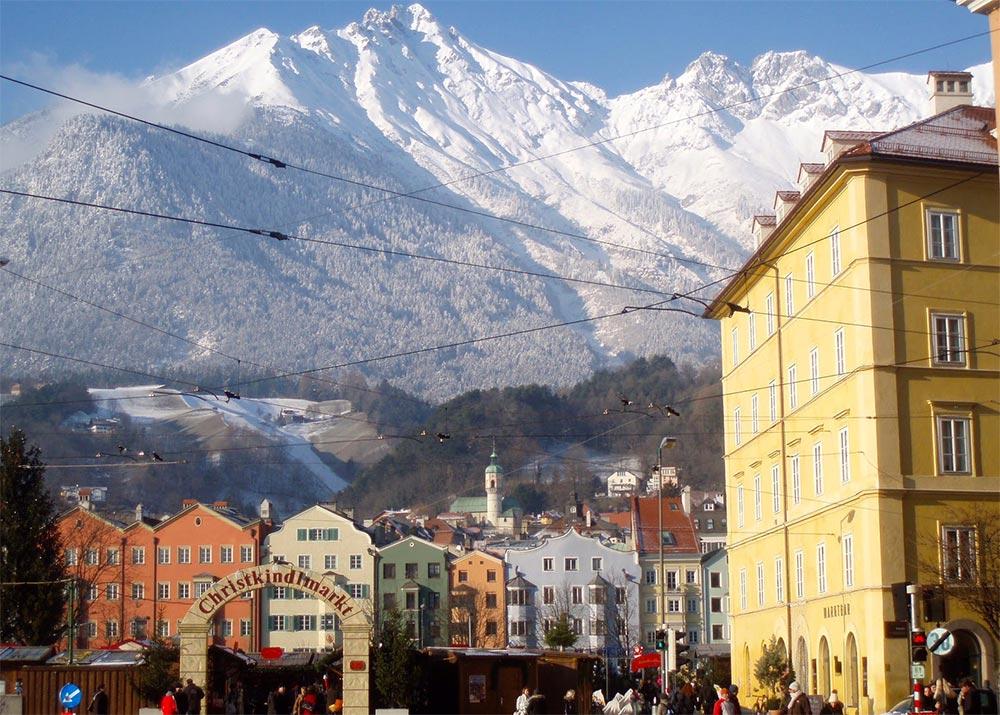 Куда поехать в январе месяце Инсбрук Австрия