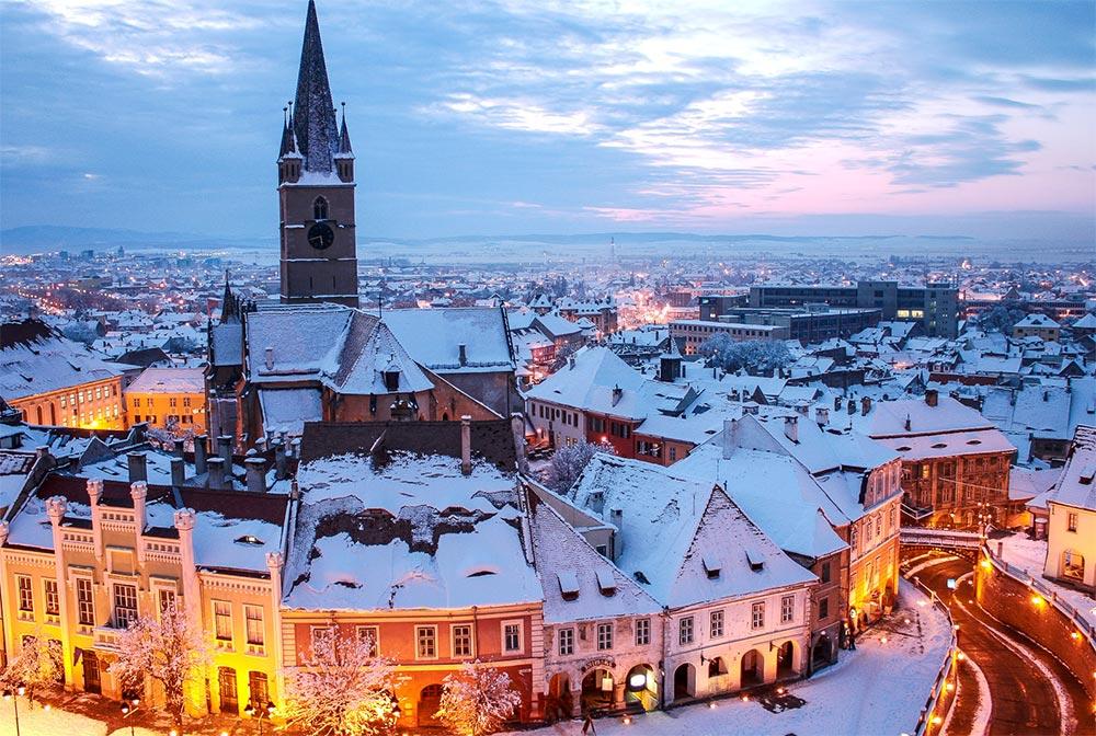 Куда поехать в январе месяце Трансильвания Румыния