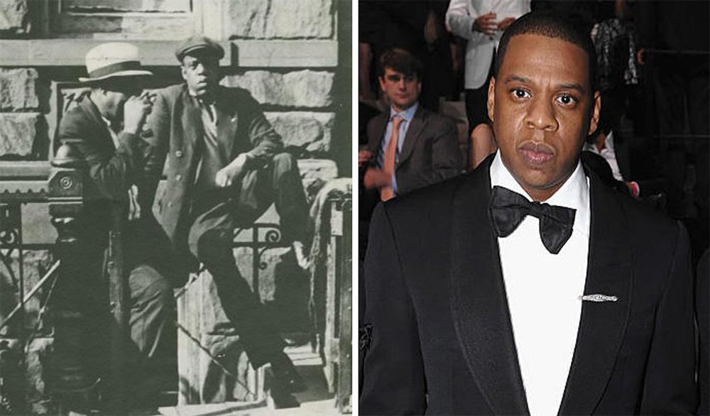 Машина времени знаменитости Рэпер Jay Z