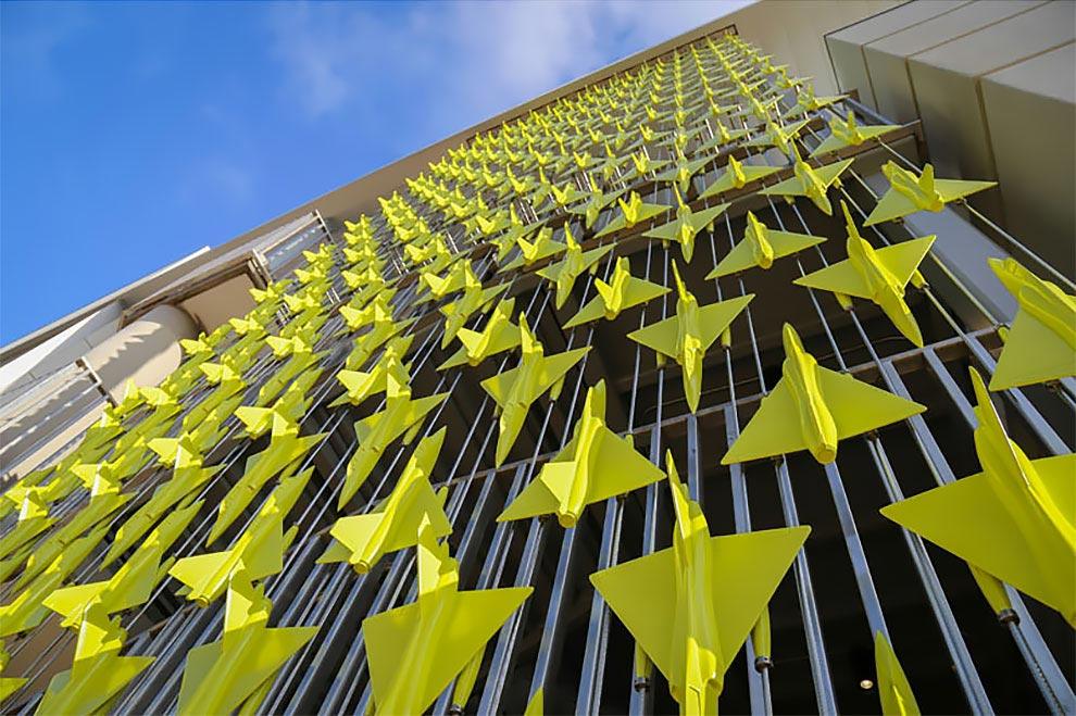 Марк Ригельман Mark Reigelman Арт-инсталляция для аэропорта Сан-Диего