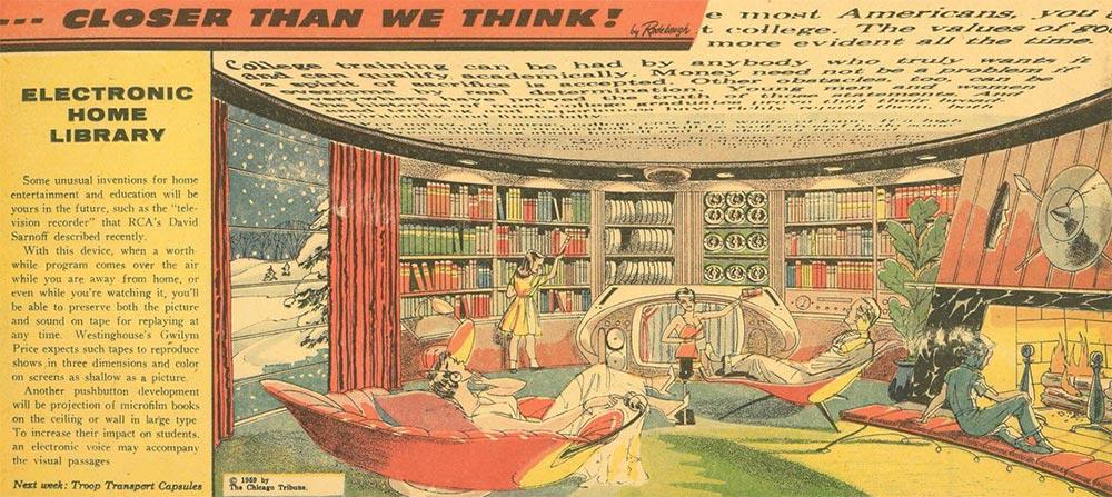 Артур Радебо Arthur Radebaugh Будущее в фантастических иллюстрациях Электронная домашняя библиотека