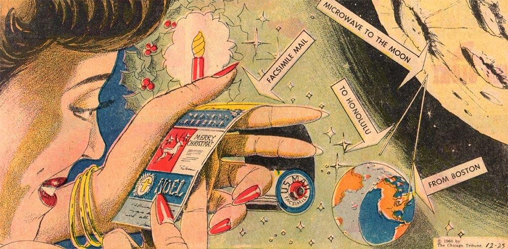Артур Радебо Arthur Radebaugh Будущее в фантастических иллюстрациях Электронные открытки