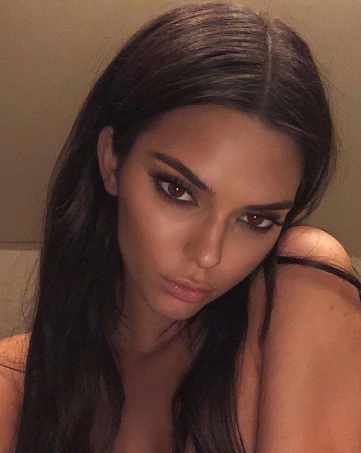 самые горячие девушки в инстаграме 2018 Kendall Jenner