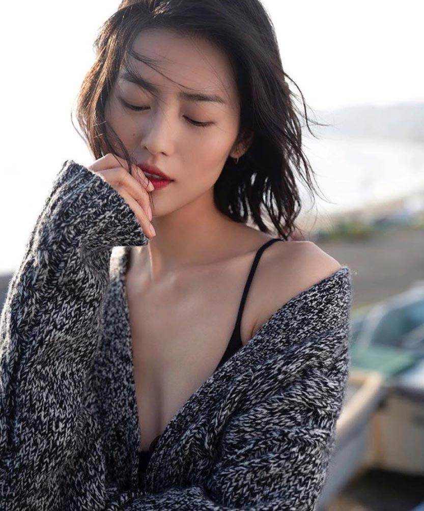 самые горячие девушки в инстаграме 2018 Liu Wen