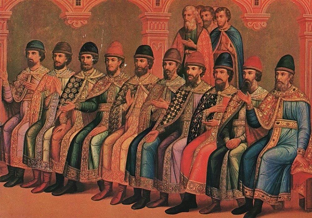 Русские фамилии родство с Рюриковичами