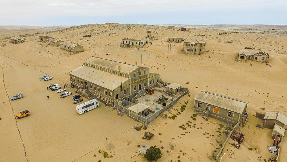 пустынные места на планете Колманскоп Намибия
