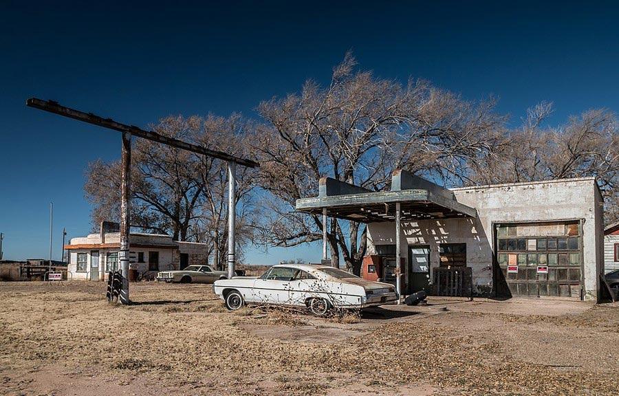 пустынные места на планете Гленрио Нью-Мексико