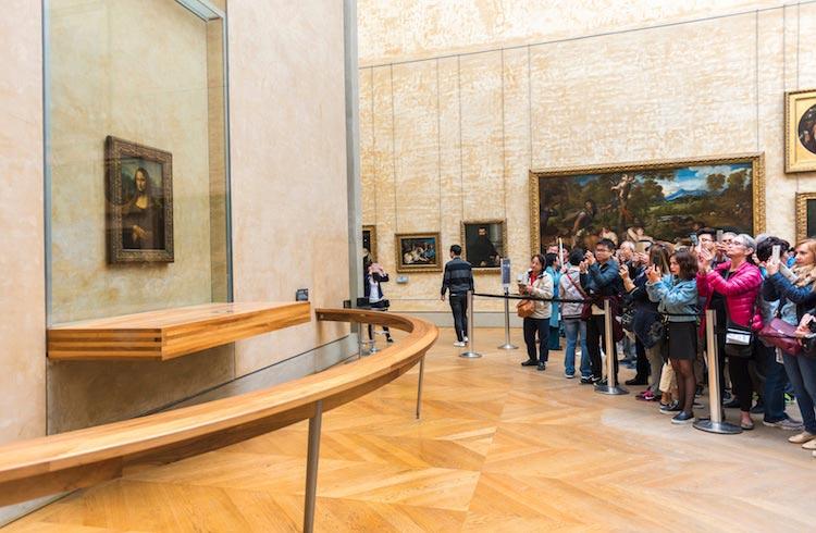 известные произведения искусства «Мона Лиза» Леонардо да Винчи: Лувр, Париж
