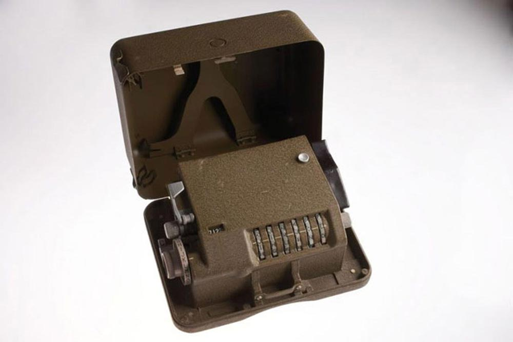 высокотехнологичные шпионские гаджеты Шифровальный аппарат