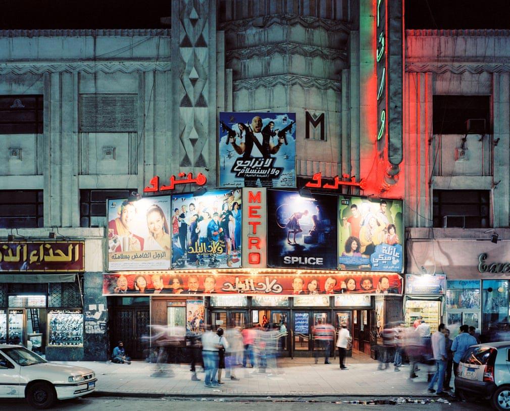 Стефан Заубицер Stephan Zaubitzer Открытые кинотеатры мира Метро Каир Египет