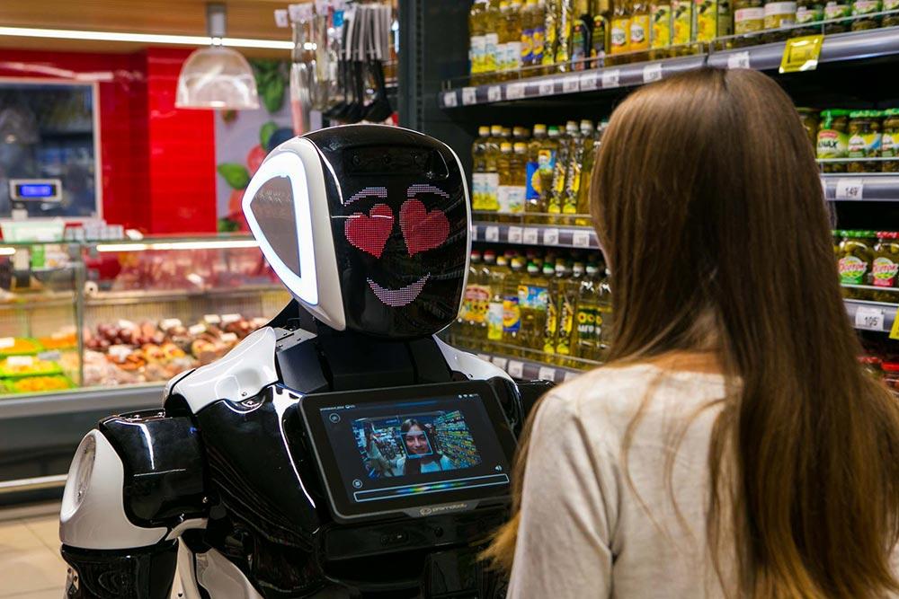 тренды робототехники: нейросети, распознавание речи и эмоций, навигация и системы безопасности промобот